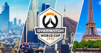 Overwatch World Cup Paris Stage