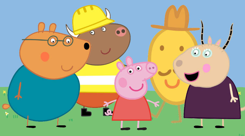 Peppa Pig's Ten Best Non-Pig Characters - World Geekly News