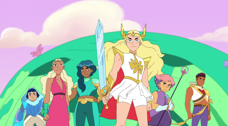 She Ra - Group shot