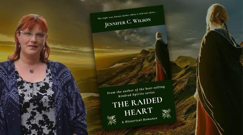 Book Review: The Raided Heart by Jennifer C. Wilson