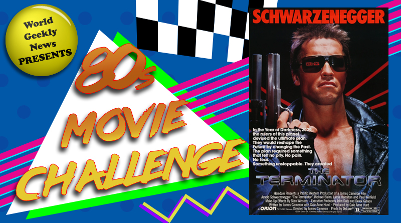80s Movie Challenge Week 5: The Terminator (1984)