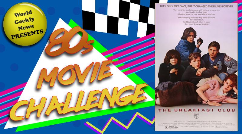 80s Movie Challenge Week 17: The Breakfast Club (1985)