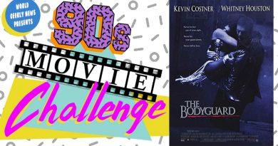 90s Movie Challenge Week 2: The Bodyguard (1992)