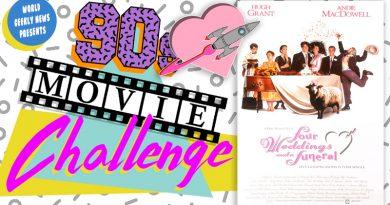 90s Movie Challenge Week 7: Four Weddings & A Funeral (1994)
