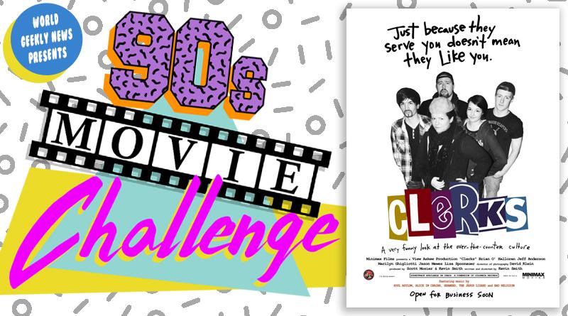 90s Movie Challenge Week 33: Clerks (1994)