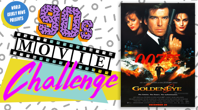 90s Movie Challenge Week 34: GoldenEye (1995)